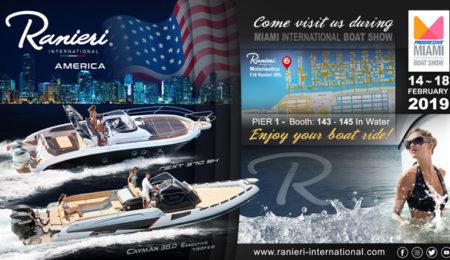 Ranieri International Miami Boat Show