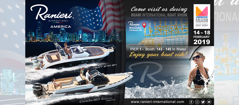 Ranieri International Miami Boat Show