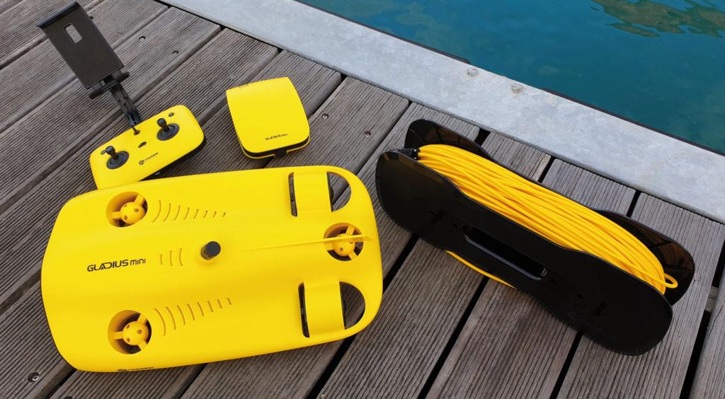 rov gladius mini drone subacqueo