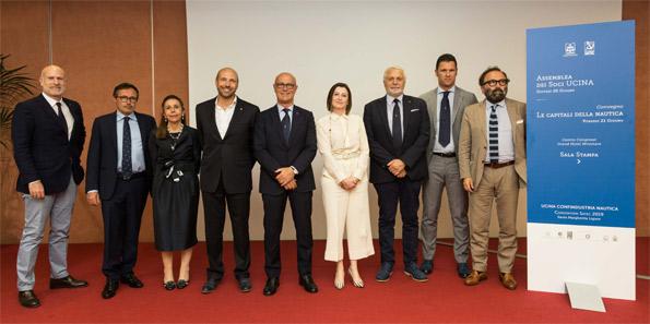 Saverio Cecchi, Carla Demaria e i nuovi Vertici UCINA
