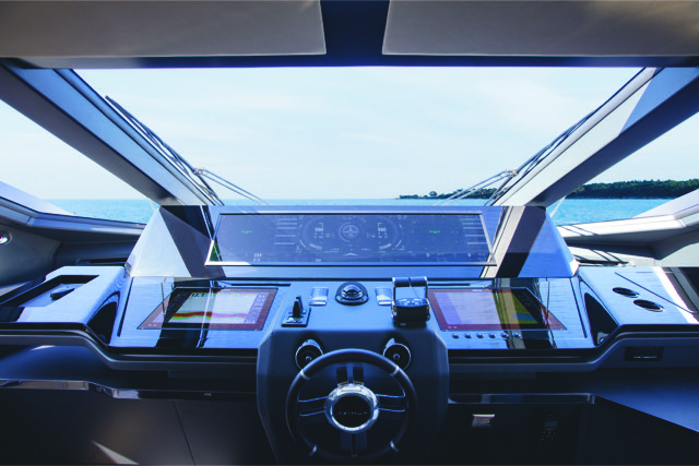Azimut Grande S10 - Simrad-Naviop