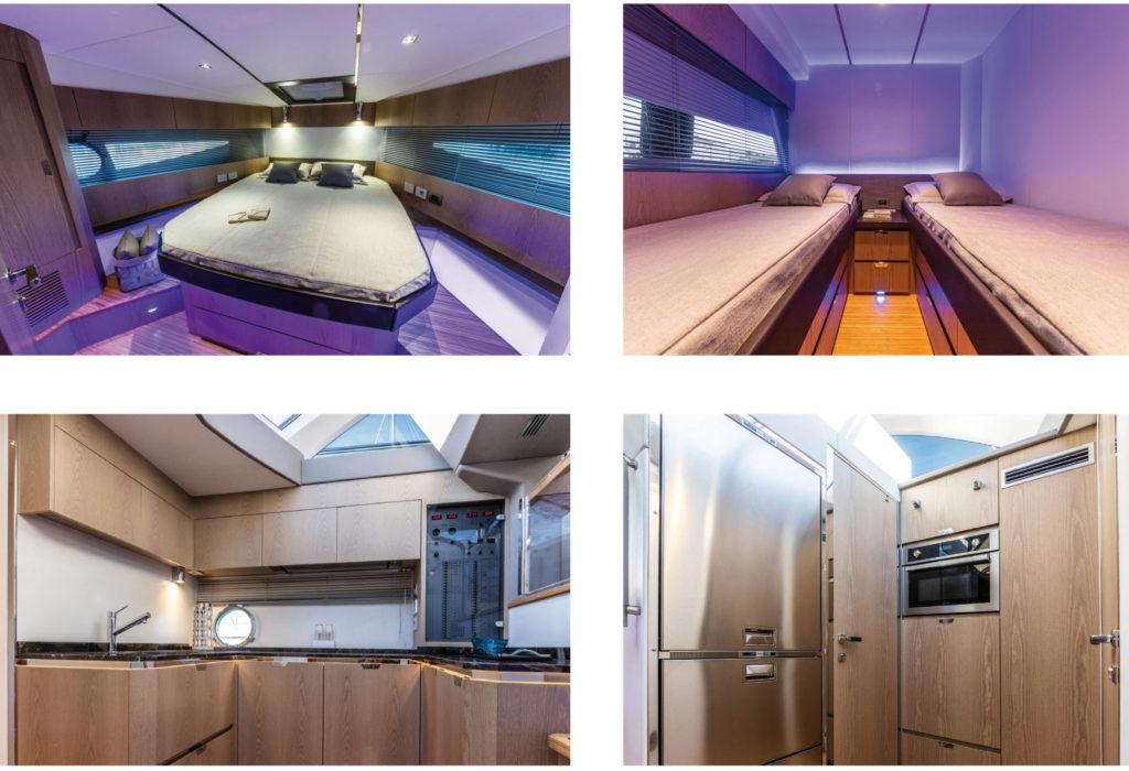 rio yachts interni