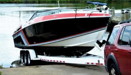 Carrello barca