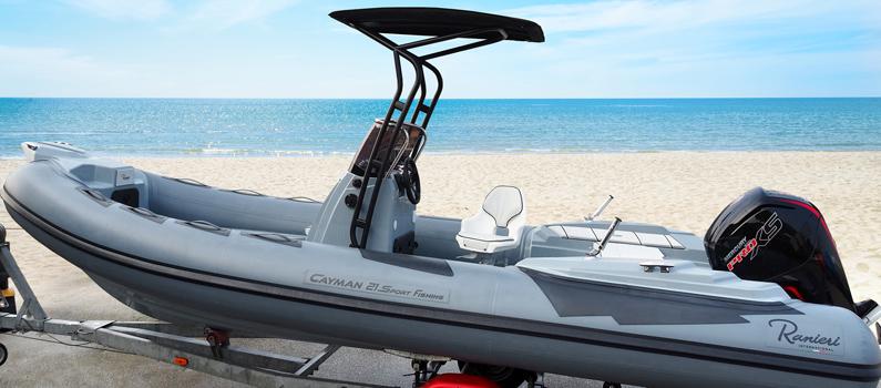 Il nuovissimo Cayman 21 Sport Fishing