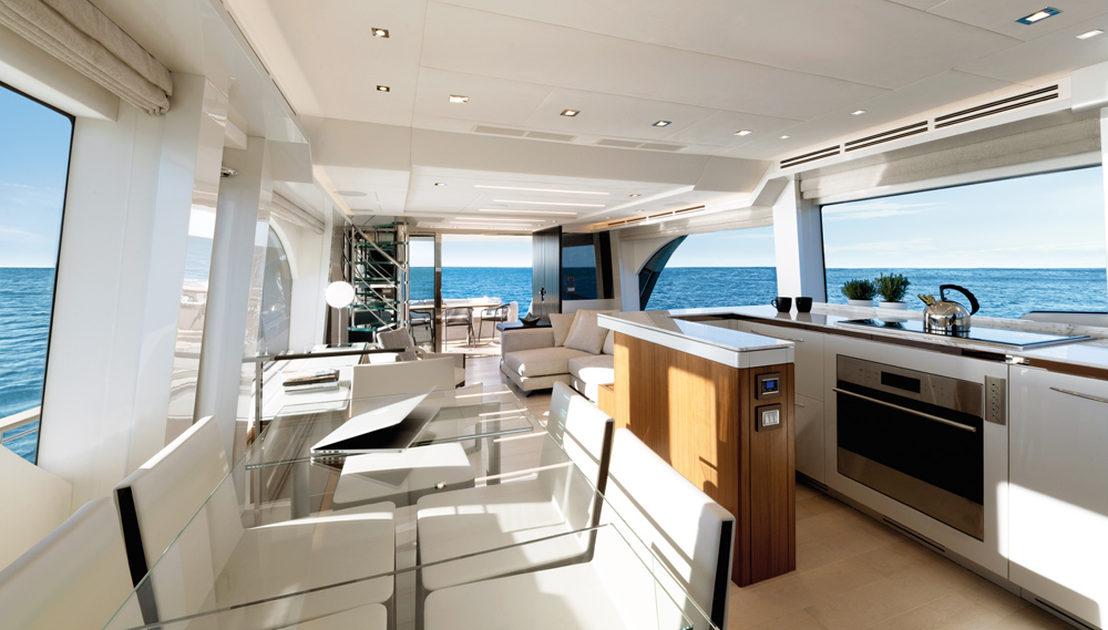 Monte Carlo Yachts 70 Skylounge