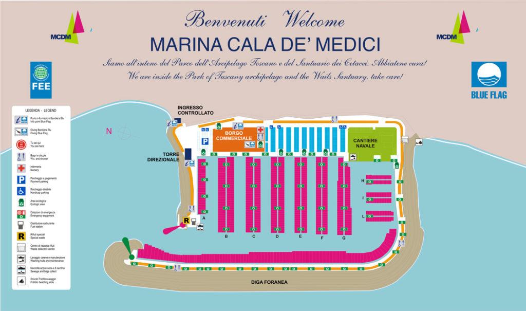 Marina-Cala-de'-Medici-mappa