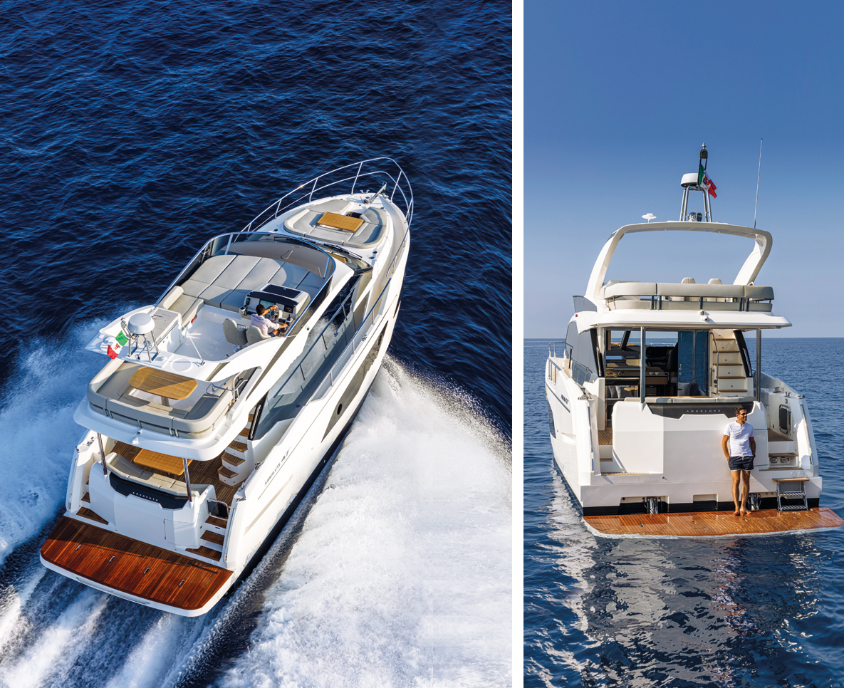 absolute 47 fly yacht