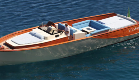 wooden boats day cruiser