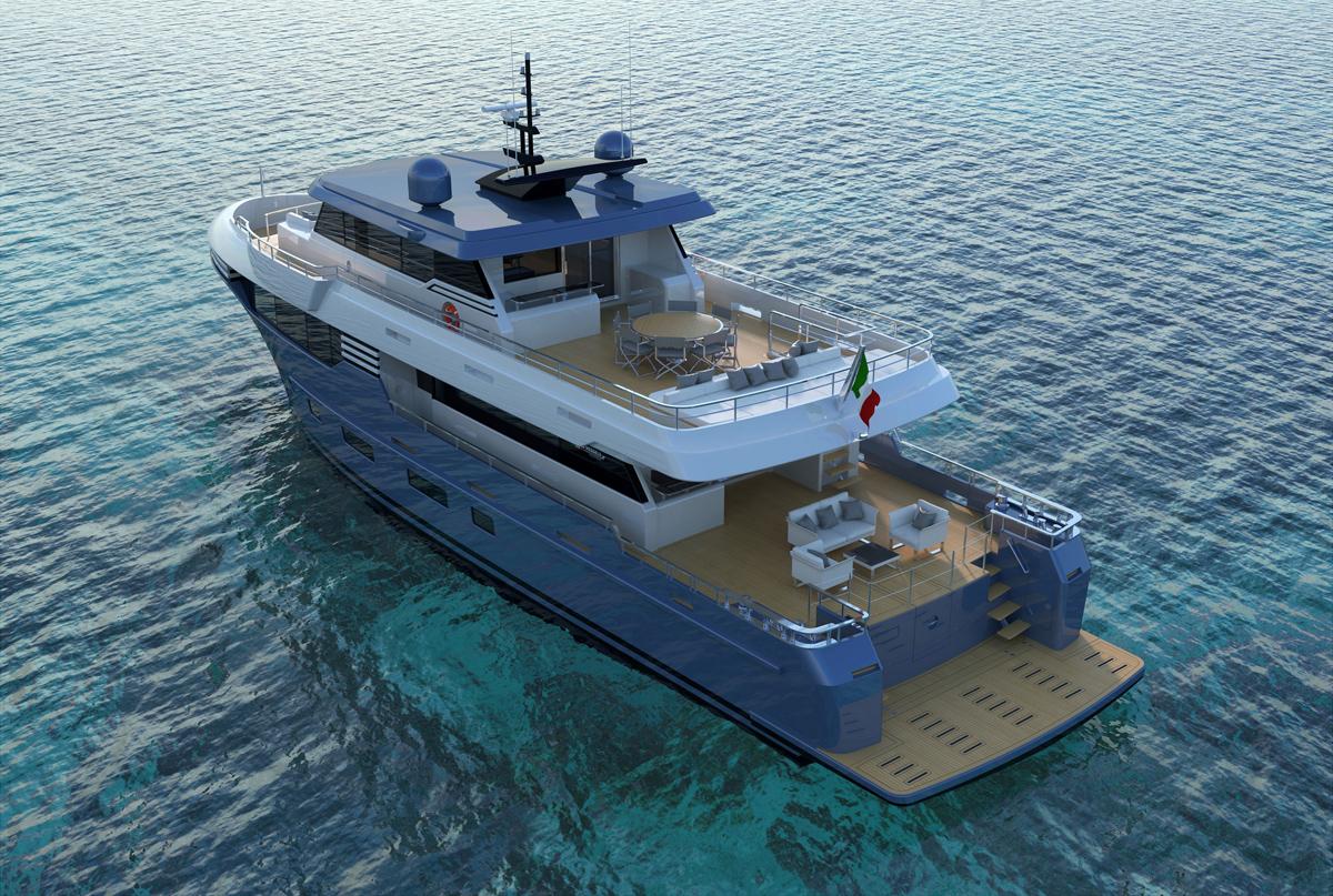 superyacht italian vessels
