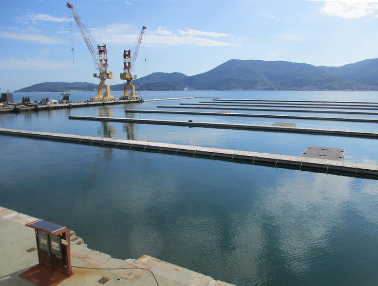molo pagliari ingemar lavori posti barca