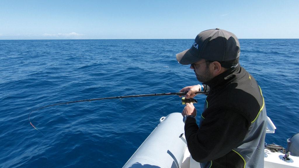 pesca bolentino medio fondale sparidi pagri