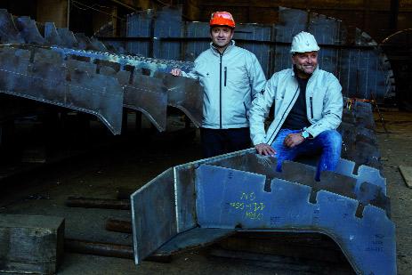 Il processo di costruzione della prima unità è iniziato da poche settimane presso la sede del cantiere, situato nella Marina di Pertusola nel Golfo di La Spezia