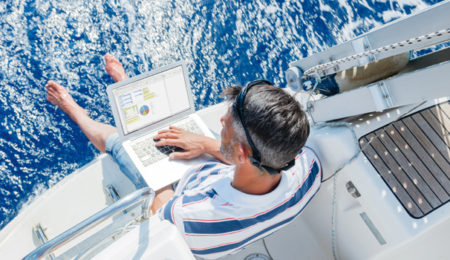 Sail working