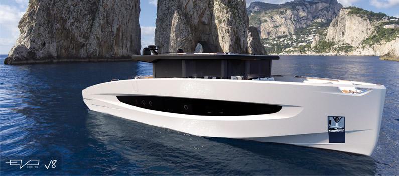 Evo V8 di Evo Yachts